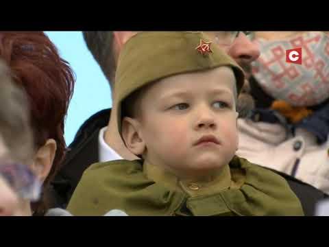 Парад  Победы в Минске и Москве. Сравним?!
