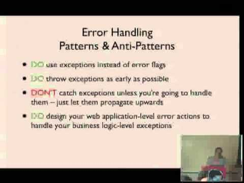 John Anderson   Code Fast, Die Young, Throw Structured Exceptions