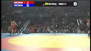 120 kg Orlov (UKR) - Kayaalp (TUR) Final