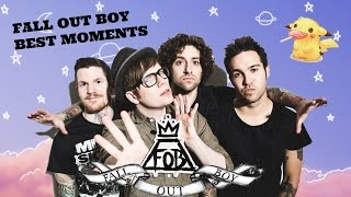 FALL OUT BOY BEST/FUNNY MOMENTS/CRACK