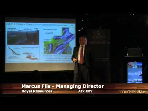 Royal Resources (ASX:ROY) MD Marcus Flis Presents