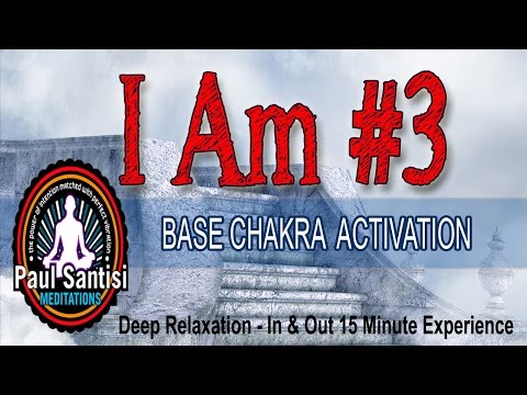 15 Minute RE-EDUCATE YOUR SOUL SERIES 1000's I AM Affirmations IN 3D  Chakra Paul Santisi