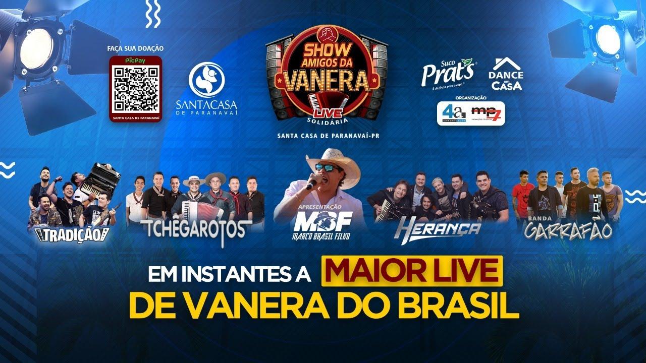TCHÊ GAROTOS - Amigos da Vanera - Live Solidária