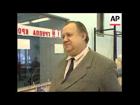 RUSSIA: MOSCOW: ECONOMIC CRISIS FORCES PEOPLE TO SELL THEIR BLOOD