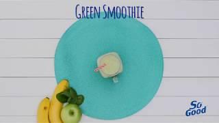 So Good Frozen Green Smoothie 15 sec