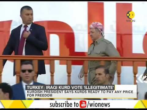 Turkey slams a planned independence referendum in Iraq's Kurdistan region