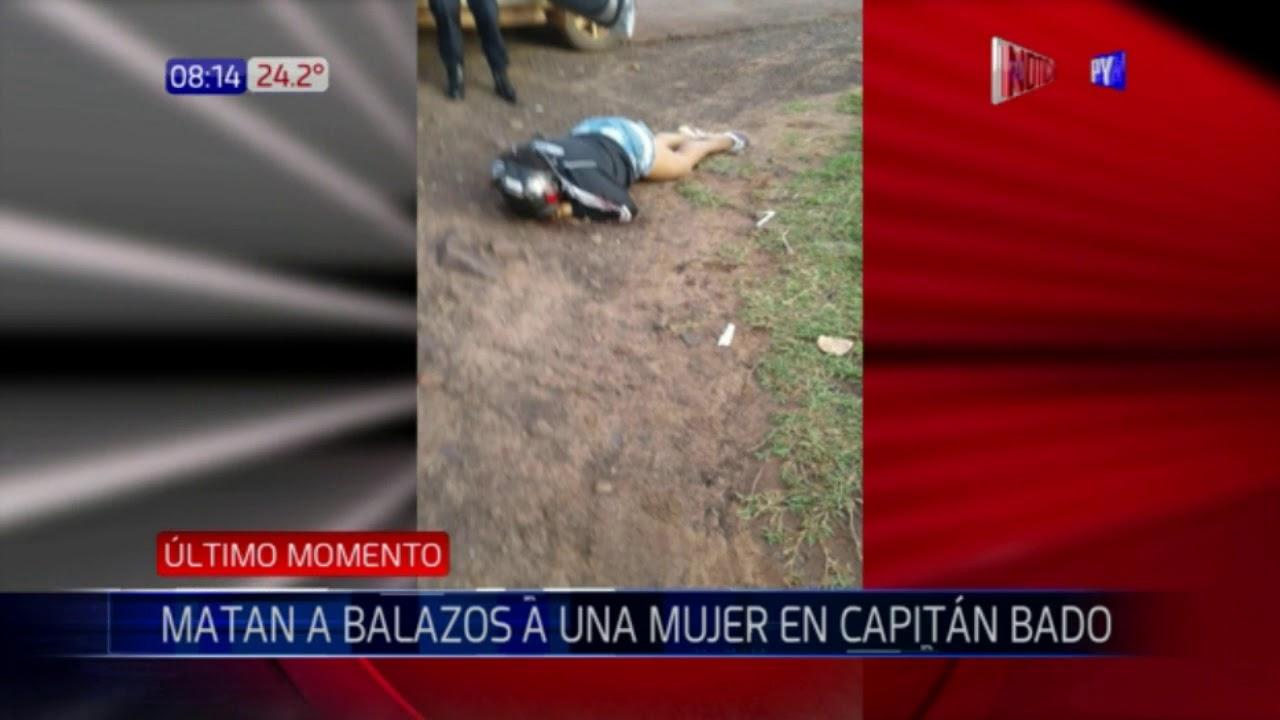Resultado de imagen para Matan de 12 balazos a una mujer en Capitán Bado