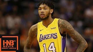 Philadelphia 76ers vs LA Lakers 1st Half Highlights / Week 7 / Dec 7