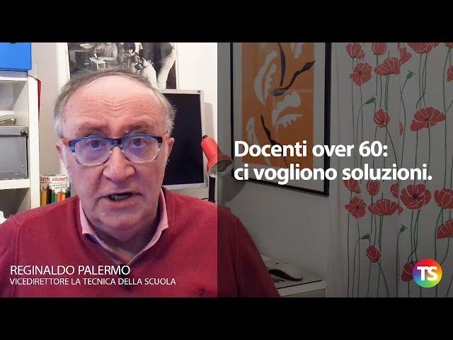 Docenti over 60: ci vogliono soluzioni