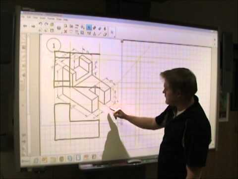 PLTW IED - Multiview Drawing