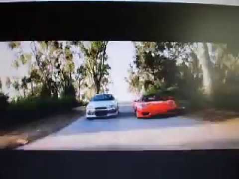 2 Fast 2 Furious Brian (Paul Walker and his Nissan Skyline )