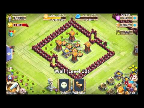 Base Setups For Town Hall 8 - 15 Windows Castle Clash