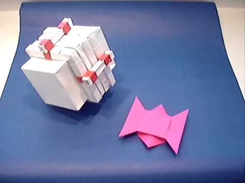 Origami Puzzle Box And Challengewmv Youtube