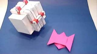 Origami Puzzle Box And Challenge.wmv