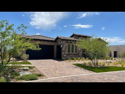 Del Webb at Lake Las Vegas New Homes For Sale   Luxury Living 55+   Voyage Home Tour   625k+ 2,736sf