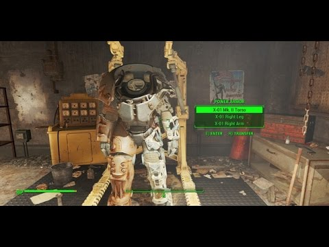 Fallout 4 Special Armor Powerrüstung X 01 Ge Hd Youtube