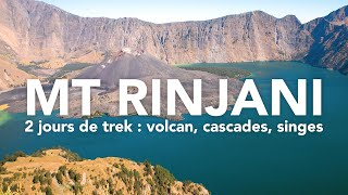L'INCROYABLE ASCENSION DU VOLCAN RINJANI | LOMBOK