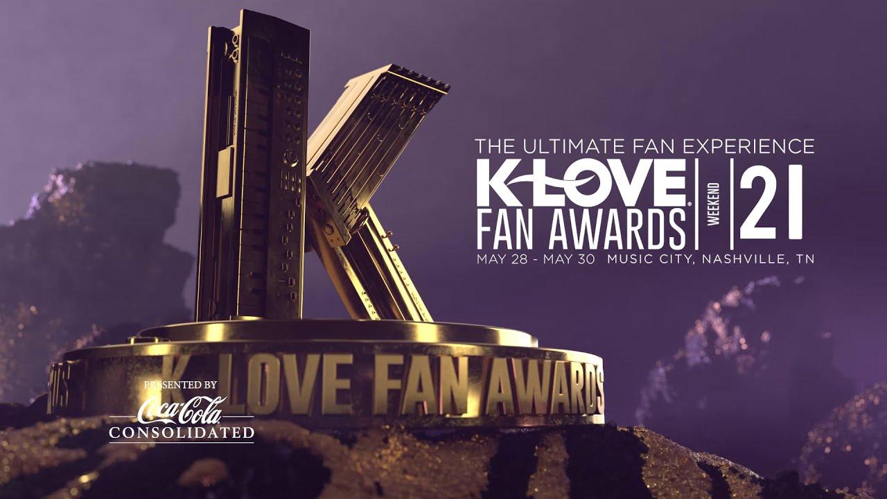 K-Love Fan Awards Features Best of Christian Music, Film, Books