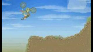 teagames motocross 3 far jumping technique!!