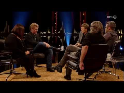 "Jon Bon Jovi Interview On Skavlan UK - TV Aired Nov 2, 2012 ""Hurricane Sandy From Afar"""