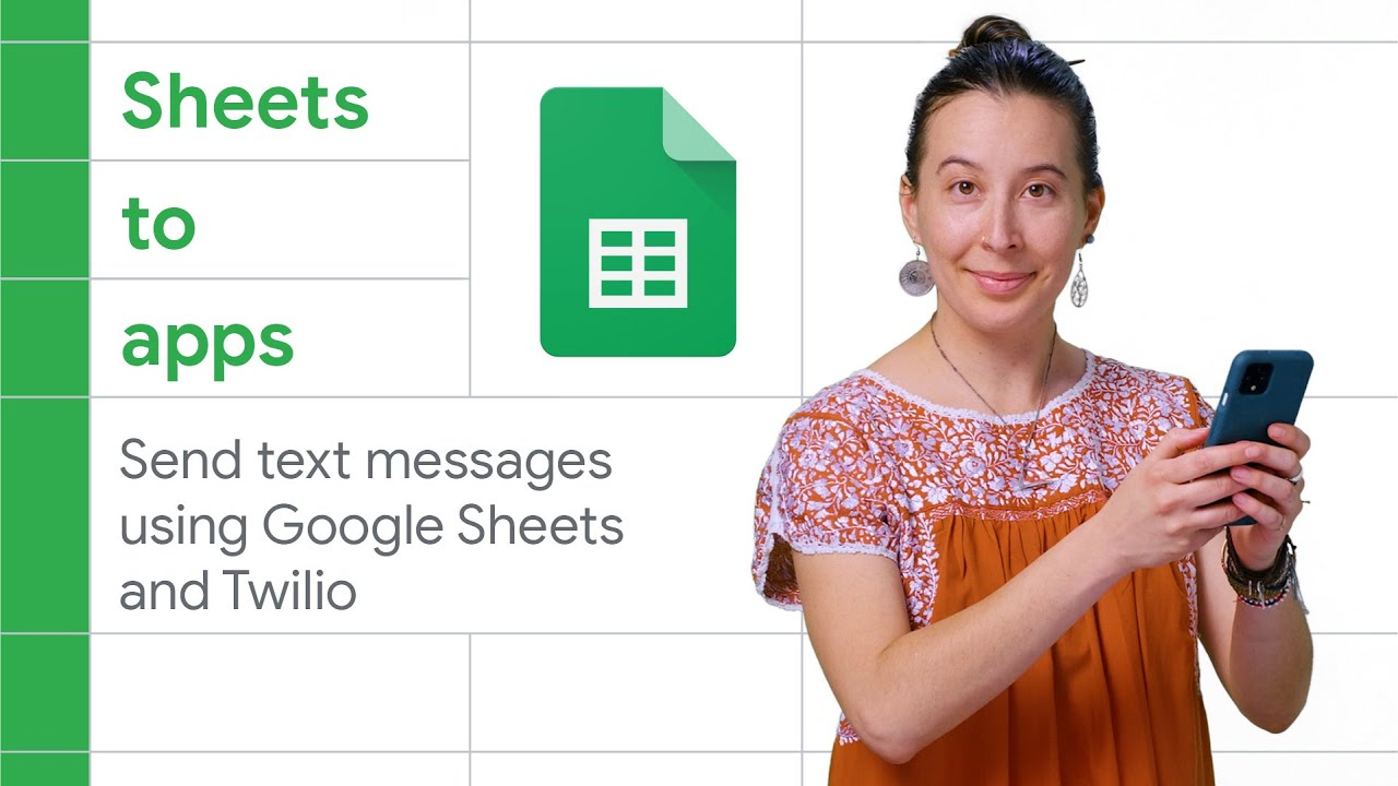 How to send text messages using Google Sheets and Twilio