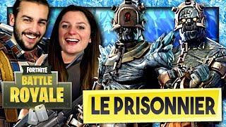 ON DÉBLOQUE LE PRISONNIER ET SON ETAPE 2 ! | FORTNITE SKIN SECRET SAISON 7