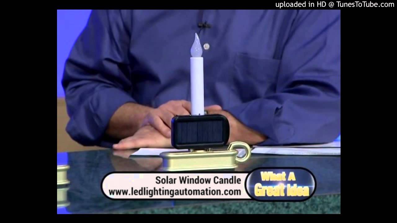 best solar window candle for everyone rockethub and amazon youtube. Black Bedroom Furniture Sets. Home Design Ideas