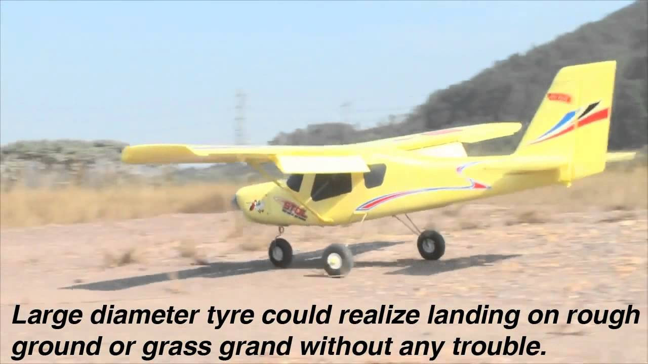 Stol 500 ParaDrop Electric RC Airplane - YouTube