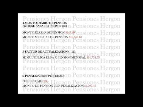 CALCULO DE PENSION IMSS