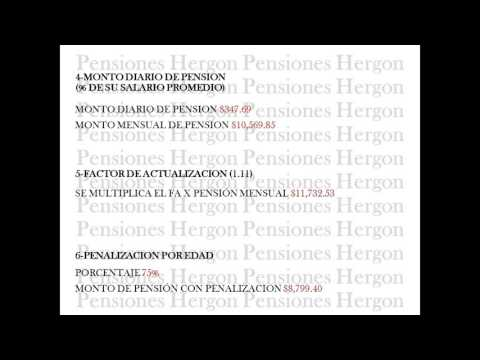 CALCULO DE PENSION IMSS