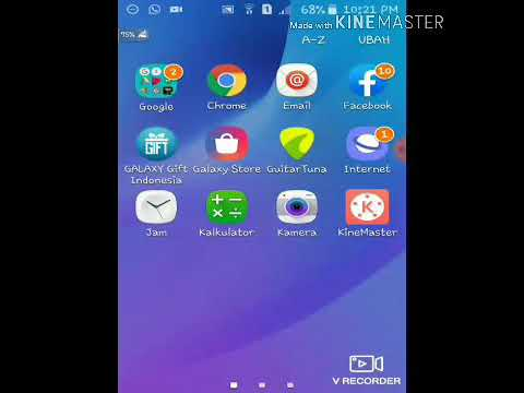 Cara Mengganti Wallpaper Samsung J1 Ace Youtube