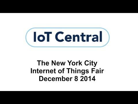 NYC IoT: Fall 2014 Internet of Things Fair (Pt.1)