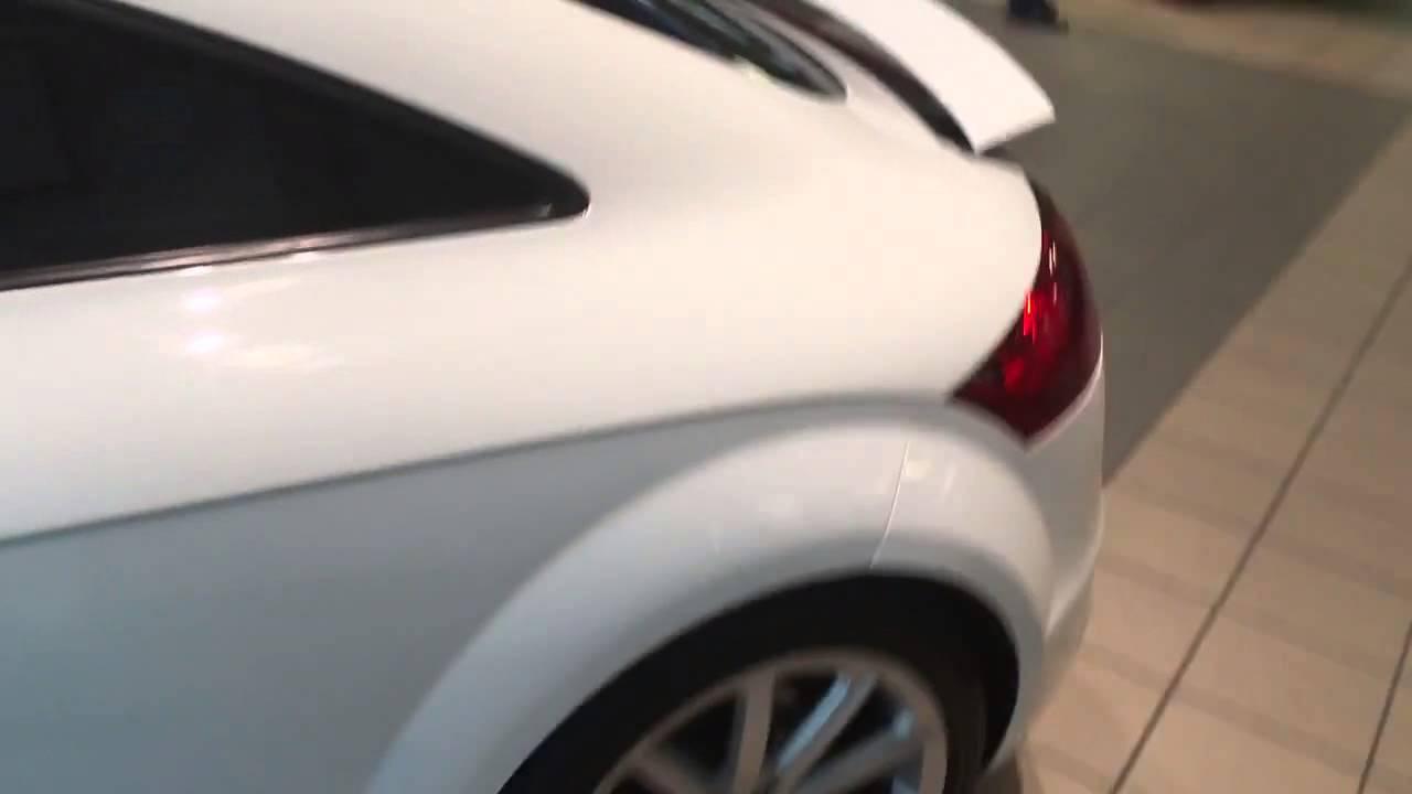 Audi TT T Quattro Coupe Premium Plus White Plano DFW YouTube - Audi dfw