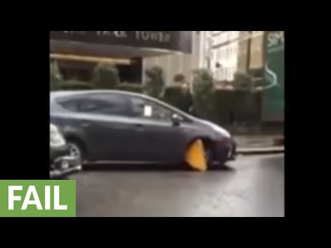 Transport for London employee's epic driving fail