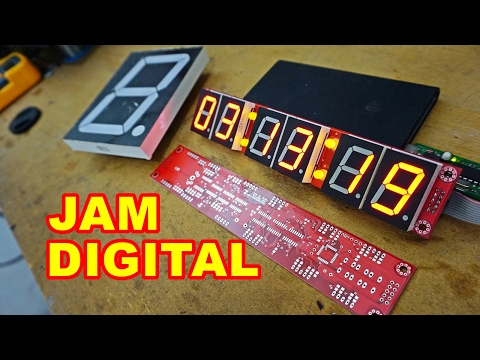 Modul Jam Digital 6 Digit