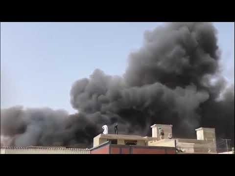 Самолет Пакистанских авиалиний разбился рядом с аэропортом Карачи