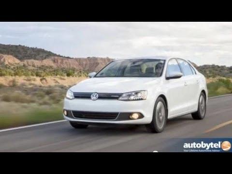 2013 Volkswagen Jetta Hybrid Test Drive & Car Video Review