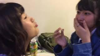田島芽瑠 山下エミリー 外薗葉月 HKT48 二人の可愛い動画どうぞ 。2017....