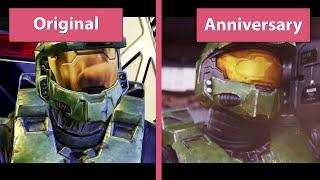 Halo 2 – Anniversary vs. Original Cutscenes Comparison [Full HD]