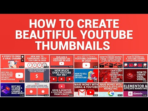 How To Create YouTube Thumbnails That Get Views FOR FREE