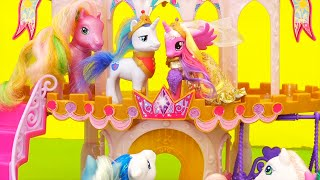 My Little Pony Toys & Dolls - Wedding Castle Cake Mix- Up When Cadance and Shining Armor Get Married