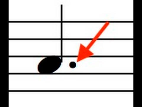 The0111 - Notenbalken, Punkt und Bindebogen - German Bass Lesson Tutorial