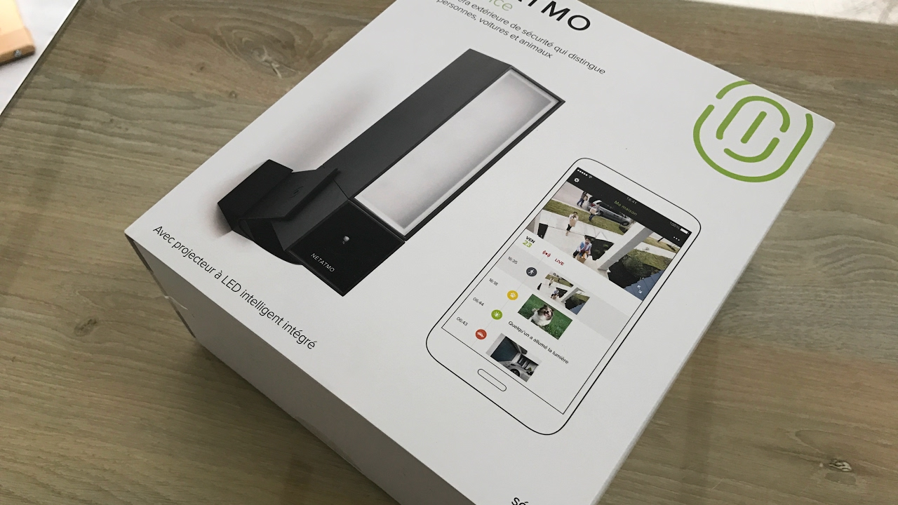 netatmo presence cam ra connect e ext rieure youtube. Black Bedroom Furniture Sets. Home Design Ideas