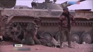 Сирия.Ожесточённые бои за Пальмиру - смерть террористов