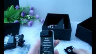 Chanel Luxury Phone for Ratent Backcover with Nokia 7310 system & Bluetooth2.0 & JAVA2.0