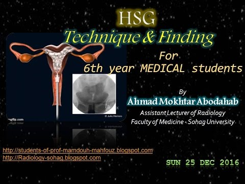 HSG   FOR MEDICAL STUDENTS