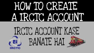 Comment créer un compte sur IRCTC en hindi par |HINDITUBE Ak|