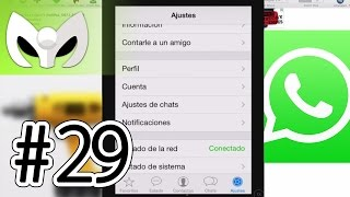 Martes #29 (WhatsApp para iPad, iPod iOS 7 2014)