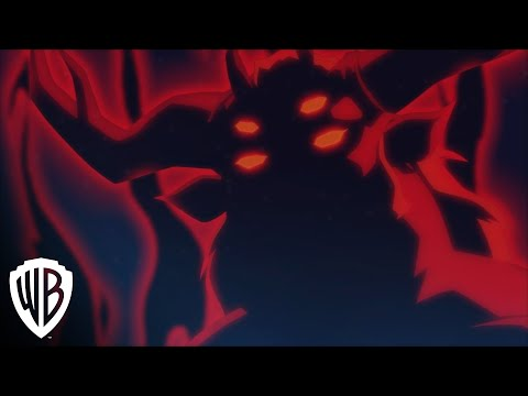 Justice League vs. Teen Titans clip - Trigon Appears to Raven