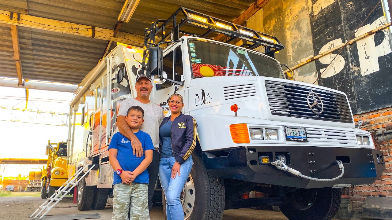 Amazing $18.000 Self Build DIY Mercedes Benz Camper Truck ► | Tlaquepaque, Mexico